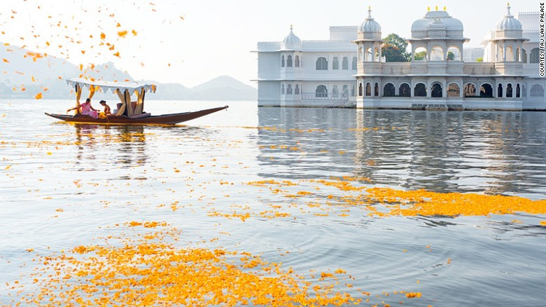 Taj Lake Palace: As loved by Roger Moore-era James Bond.