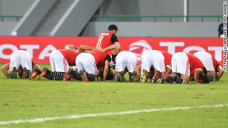 Egypt advances to the quarterfinals without conceding a single goal.