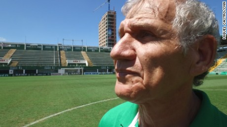 Chapecoense worker on overcoming tragedy