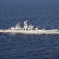 Rusian warship Petr Velikiy