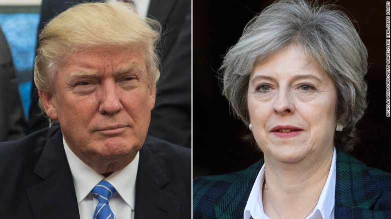 "Trump and May: A new ""special relationship?"""