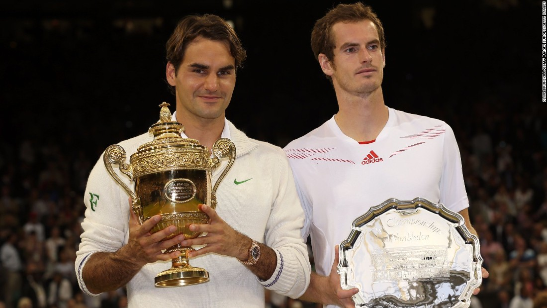 Federer's last slam title came almost five years ago, when he beat Andy Murray in the Wimbledon final in 2012.