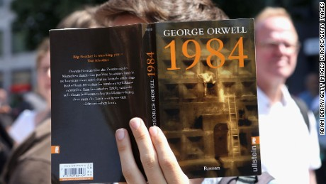 Sales are spiking for '1984,' but it has a long history in politics