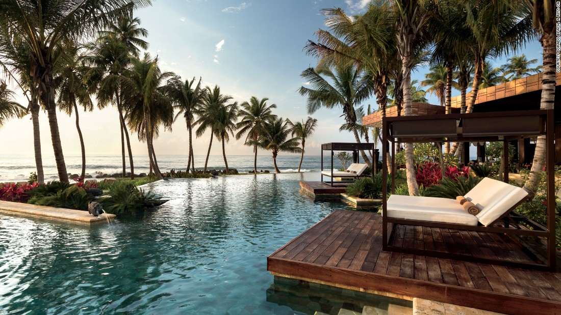 "<a href=""http://www.ritzcarlton.com/en/hotels/puerto-rico/dorado-beach"" target=""_blank""><strong>Dorado Beach, A Ritz-Carlton Reserve<strong></a></strong>, Dorado, Puerto Rico: </strong>This hotel's luxury ""is wrapped in an envelope of naturally preserved sanctuary-style surroundings. The guest suites are spacious and have luxurious amenities and ocean views, with some also featuring private pools,"" writes the inspector, noting there's also a five-acre spa."