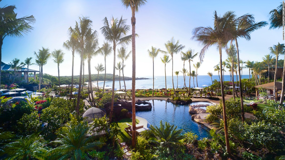 "<a href=""http://www.fourseasons.com/lanai/"" target=""_blank""><strong>Four Seasons Resort Lana'i, Hawaii<strong></a></strong>: </strong>""The newly renovated AAA Five Diamond resort provides panoramic ocean views atop rugged lava cliffs and white sand beaches,"" says the inspector's notes. ""Accommodations are culturally contextual, giving a nod to Hawaiian aesthetics."""