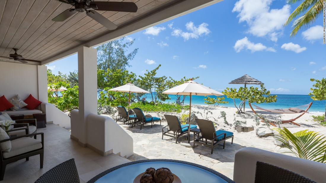 "<a href=""http://www.spiceislandbeachresort.com"" target=""_blank""><strong>Spice Island Beach Resort<strong></a></strong>, St. George's, Grenada: </strong>Situated on a gorgeous white-sand beach, this resort ""has richly decorated, luxurious suites with furnished balconies or terraces,"" writes the inspection team. ""The suites, tucked among private gardens dotted by lemon, almond and sea grape trees, are spread out in several buildings and afford very nice privacy."""