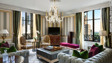 Royal Suite at The St. Regis New York, Living Room