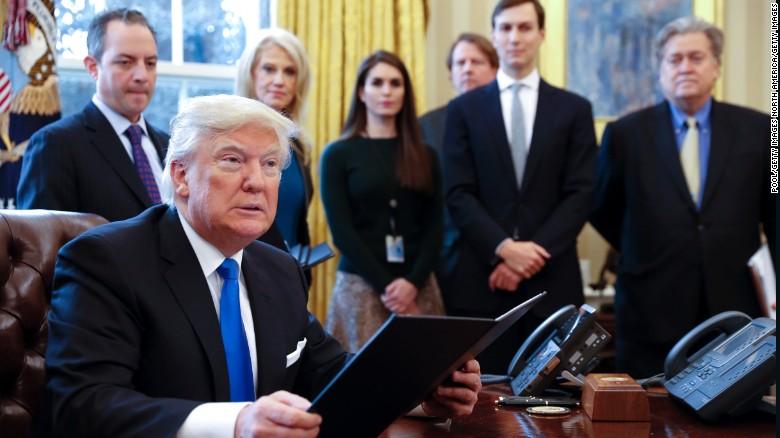 Former adviser defends Trump's immigration ban
