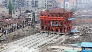Should China move its historic monuments?