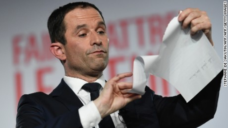 Benoit Hamon is a former French education minister.
