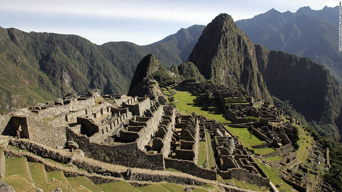 <strong>Machu Picchu, Peru: </strong>Sitting 8,000 feet high in the Andes, the mysterious Machu Picchu -- built more than 500 years ago -- attracts thousands of visitors a day.