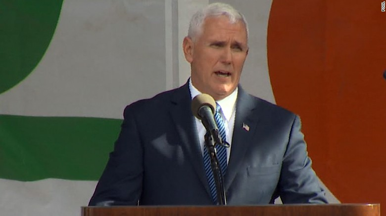 Pence: Life is winning again