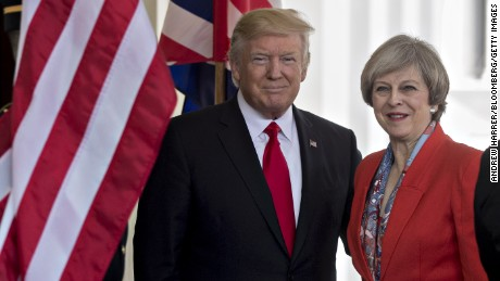 Trump's UK state visit pushed back to 2018