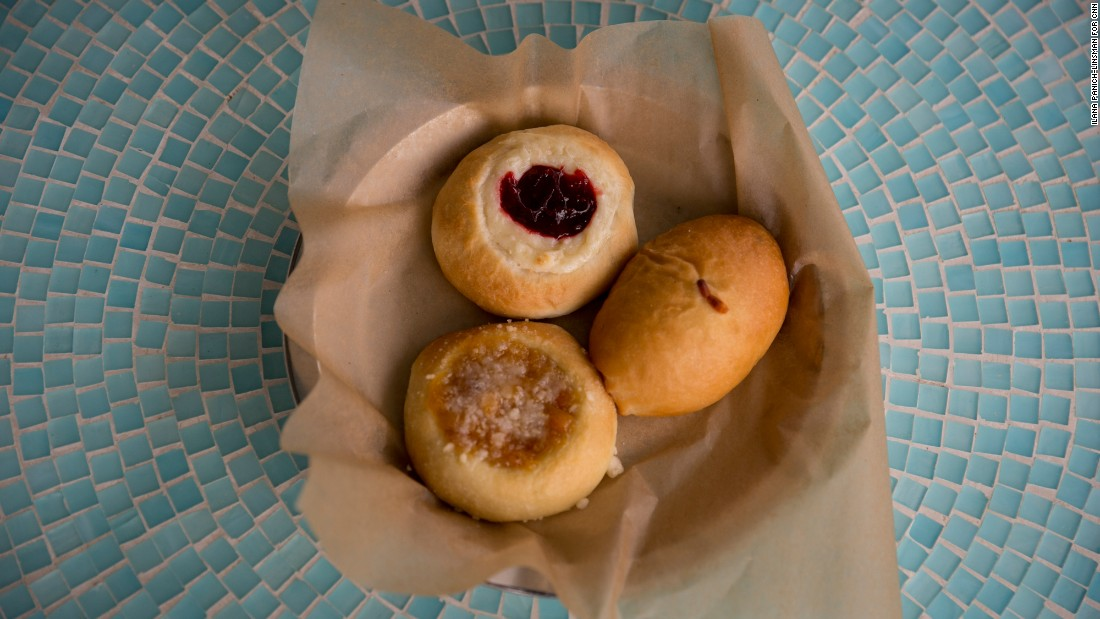 At Park Street Bakery, kolaches and klobasniky hint at the legacy of the area's Czech immigrant farmers, who flocked to the Brenham area starting in the mid-19th century.