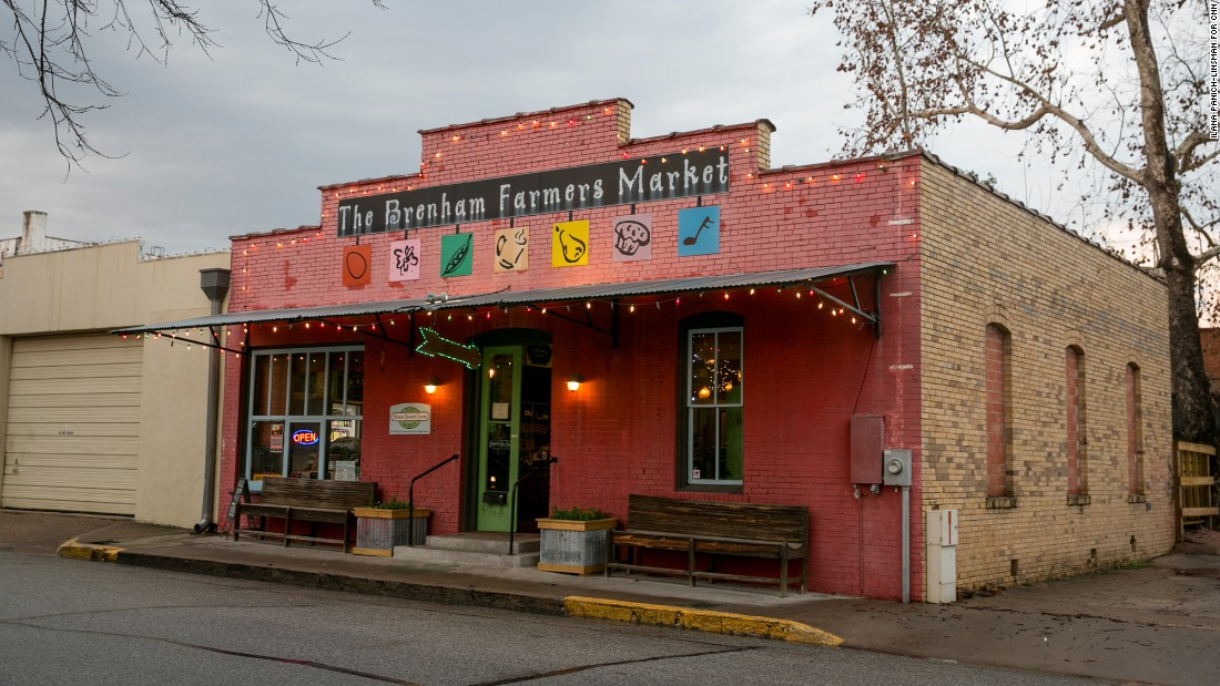 Artisan cheeses, locally produced beef and poultry and craft beer are among the offerings at Home Sweet Farm Market & Biergarten in downtown Brenham.