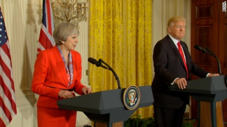Theresa May: Donald Trump to make state visit to UK