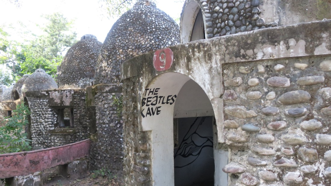 "<strong>Dear Prudence: </strong>The Beatles Ashram has been open to the public since 2015. Although much of it has been let in ruins, meditation caves like these inspired the song ""Dear Prudence."""