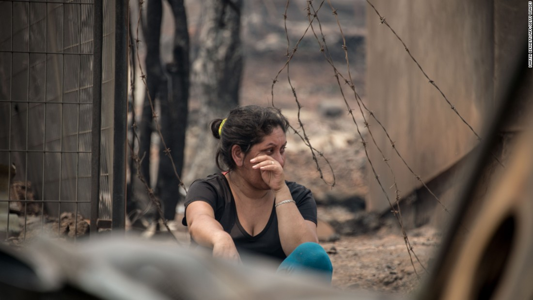 Chile Wildfires: At Least 11 Die In Catastrophe