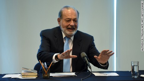 Billionaire Carlos Slim tells Mexico not to fear Trump
