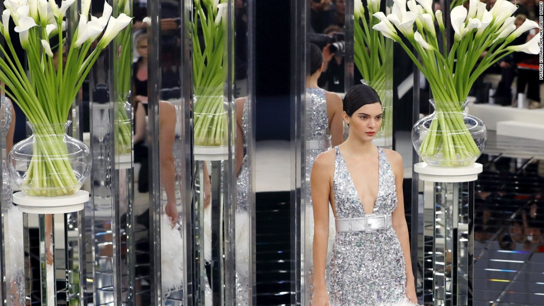 Kendall Jenner, a Chanel regular, also walked show.