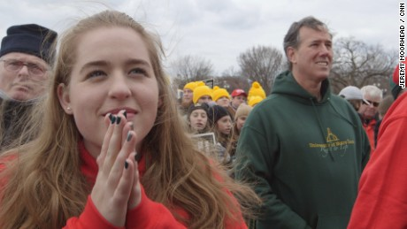Rick Santorum and his March for life