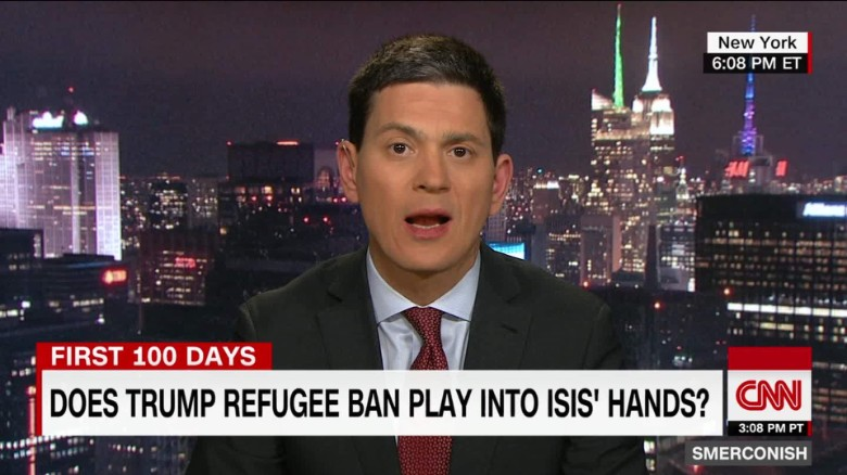 Miliband on Trump's 'Unamerican' refugee ban policy _00030315