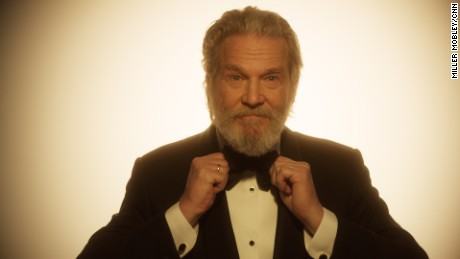 Jeff Bridges strikes a pose at the SAG Awards