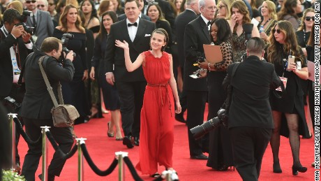 Actor Millie Bobby Brown attends The 23rd Annual Screen Actors Guild Awards at The Shrine Auditorium on January 29, 2017 in Los Angeles, California. 26592_016  (Photo by Emma McIntyre/Getty Images for TNT)