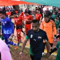 aleppo football players walk out