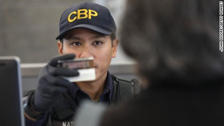 US Customs agents typically ask travelers to declare what items they're bringing into the country.
