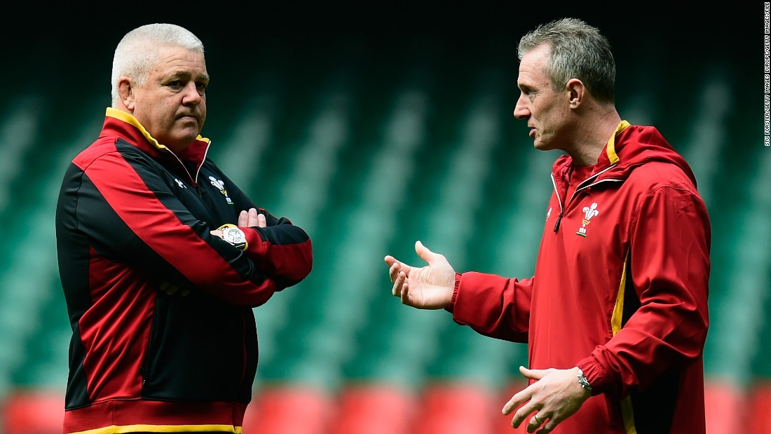 With head coach Warren Gatland (left) leading the British and Irish Lions' 2017 tour of New Zealand, assistant Rob Howley (right) will replace him for the Six Nations -- as he did four years ago when the New Zealander took the Lions to Australia.