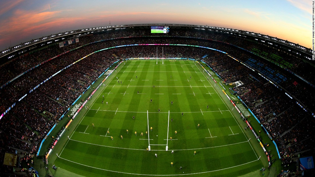 "The world's largest dedicated rugby venue has a capacity of 82,000 -- which helped the 2015 Six Nations record the highest average attendance of any sporting event on the planet, <a href=""http://www.rbs6nations.com/en/news/30586.php#I8TP6H2h4wrBgvTU.97"" target=""_blank"">according to a recent study</a>. The London ground hosted the 2015 World Cup final between New Zealand and Australia (pictured)."