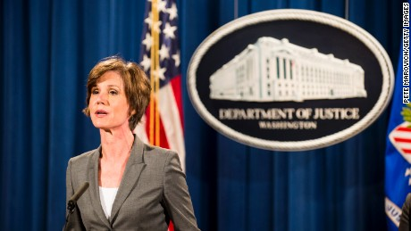 Yates in 2015: AG obligated to 'follow the law'