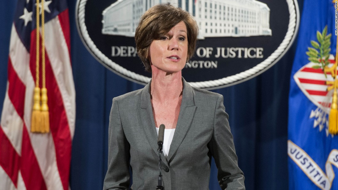 Who Is Sally Yates Cnnpolitics Com