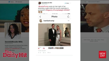 Ivanka Trump's Instagram post stirs controversy