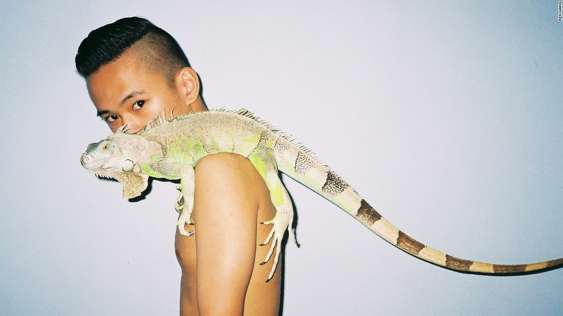 In Ren Hang's imagination, everything is an uninhibited metaphor for desire. Even plants and pools of water are charged with lust.<br />