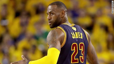 LeBron launches show about star athletes and their money
