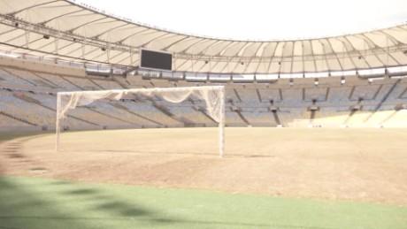 Brazil's Olympic legacy? An abandoned Maracana