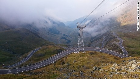 Transfagarasan Road: A twisting ride through Dracula country.