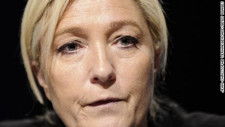 Marine Le Pen leads French polls, but may not win in the end.