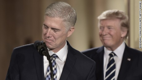 Trump hopes to woo Gorsuch support from bipartisan group of senators