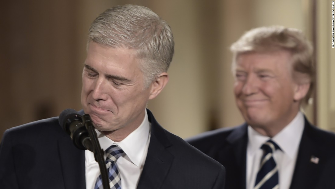 Neil Gorsuch's stealth Supreme Court nomination