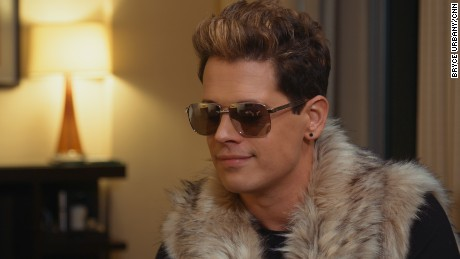 Milo Yiannopoulos, 32, is an outspoken editor for the far-right Breitbart News.