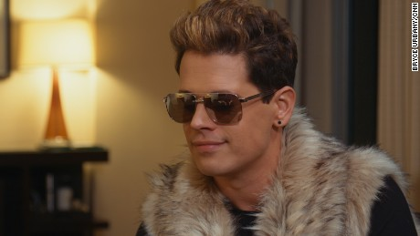 Milo Yiannopoulos, 32, is an outspoken editor for the far-right Breitbart News. He's is on a tour of college campuses and has made it his goal to take on the traditionally left-leaning college establishment.