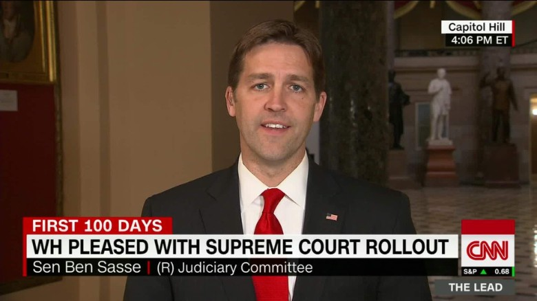senator ben sasse supreme court nominee gorsuch president trump the lead jake tapper_00002609