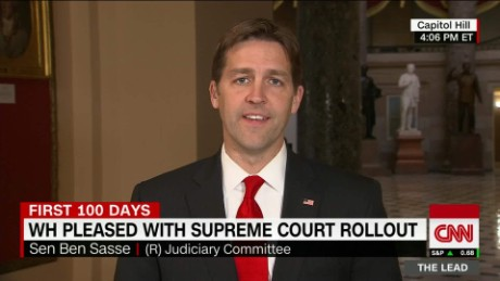 Sasse rebukes Trump: 'We don't have so-called judges'
