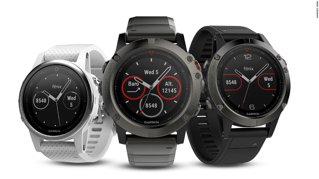 <strong>Garmin Fenix:</strong> The new multisport GPS watch from Garmin is a heavy-duty activity tracker which offers skiing-specific metrics such as speed, distance, vertical drop and a run counter.