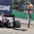 esteban gutierrez australia crash