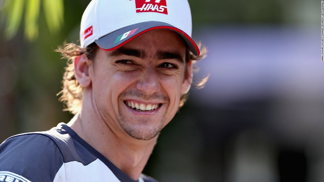 "Esteban Gutierrez is excited to switch Formula One cars for electric racers after joining the Formula E world championship in 2017. ""It is like a fresh start, and an opportunity to grow,"" the 25-year-old tells CNN."