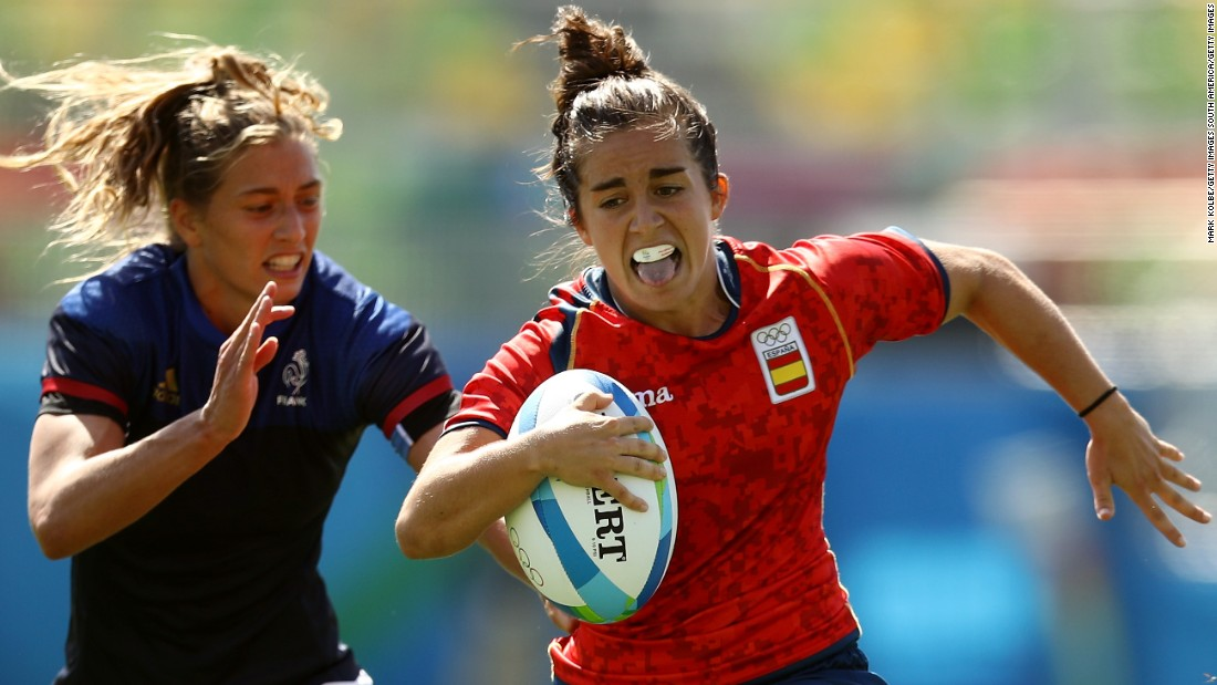 After taking up rugby late in life, Patricia Garcia has become the star of the Spanish women's sevens team.